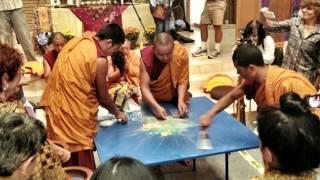 Sand Mandala + Tibetan Monk Chant | Awakening Code Radio Thumbnail