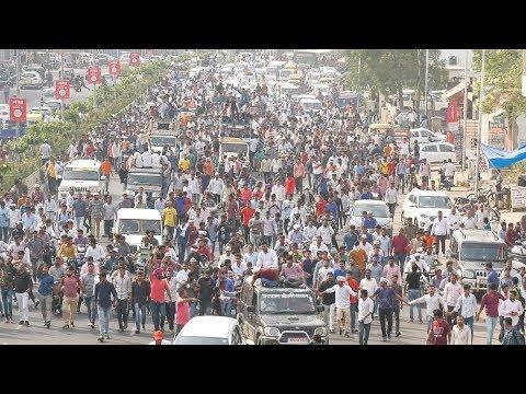 Hanuman beniwal Road show jaipur 28-10-2018। Hariram Kiwada । JVP मीडिया ग्रुप। किसान हुंकार रैली।
