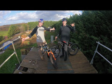 Riding My Favourite MTB Spots With Max Fredriksson!!
