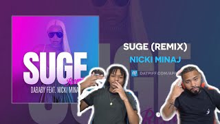 SHESSH 🔥🔥Nicki Minaj - SUGE (Remix) (AUDIO | FVO REACTION