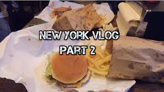 Best Burgers in New York? - NYC Vlog Part 2