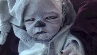 Introducing Wolfrick... (baby werewolf reborn doll - I do NOT take custom orders)
