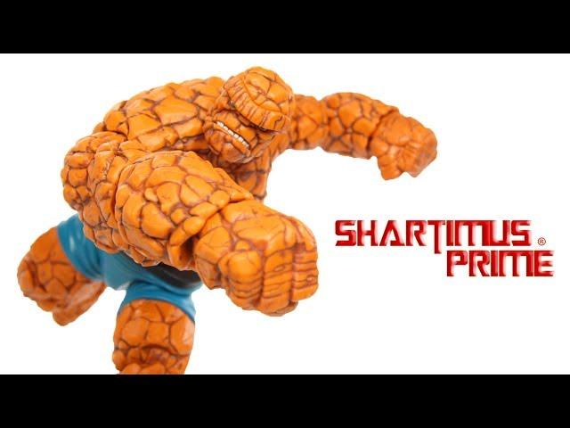 Marvel Legends Thing Walgreens Exclusive Marvel Hasbro Fantastic Four Action Figure Toy Review