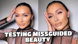 TESTING MISSGUIDED BEAUTY | FIRST IMPRESSIONS
