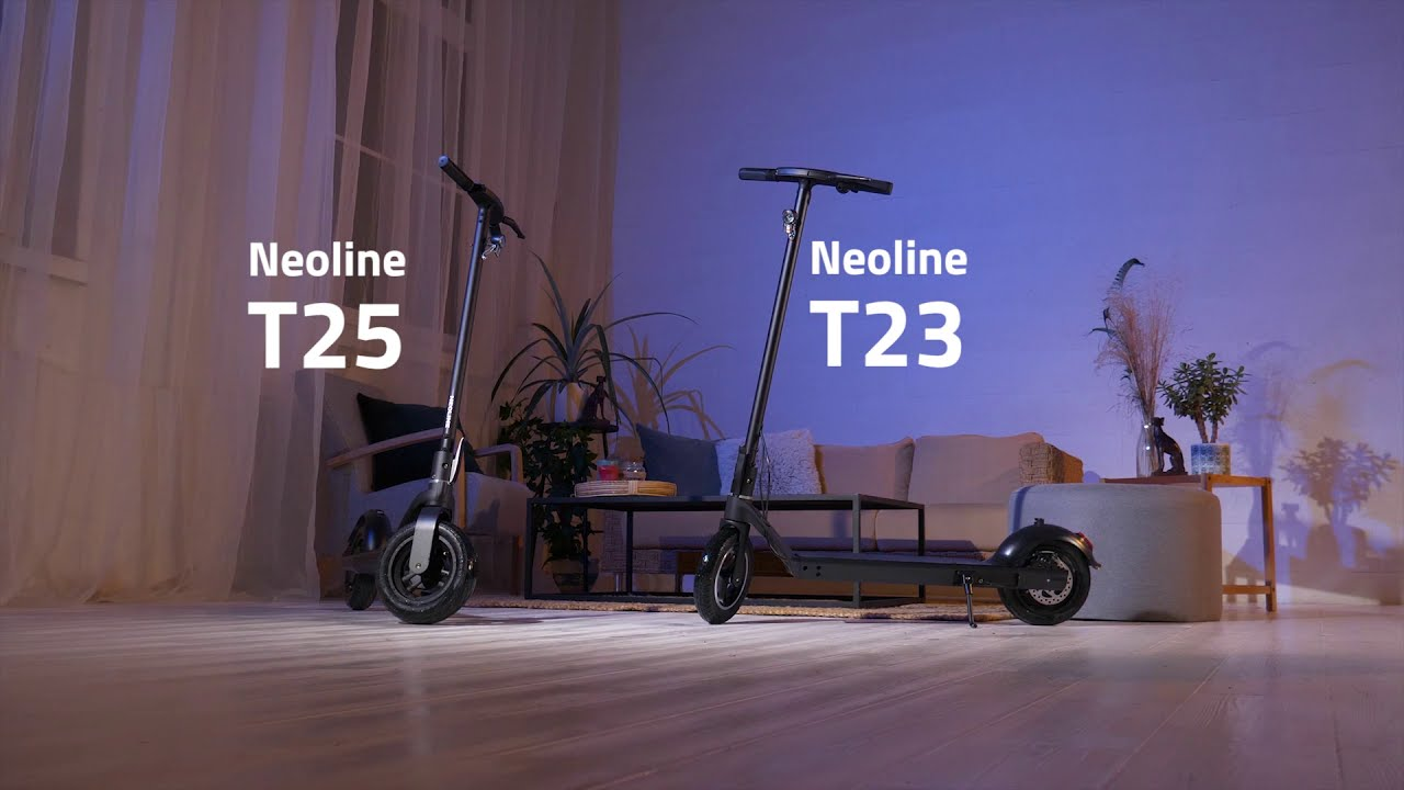 NEOLINE T23 & T25 e-scooters
