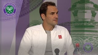 Roger Federer Wimbledon 2019 First Round Press Conference
