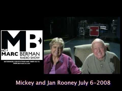 Mickey Rooney and Wife Jan Get Out & Vote  MBS 2008