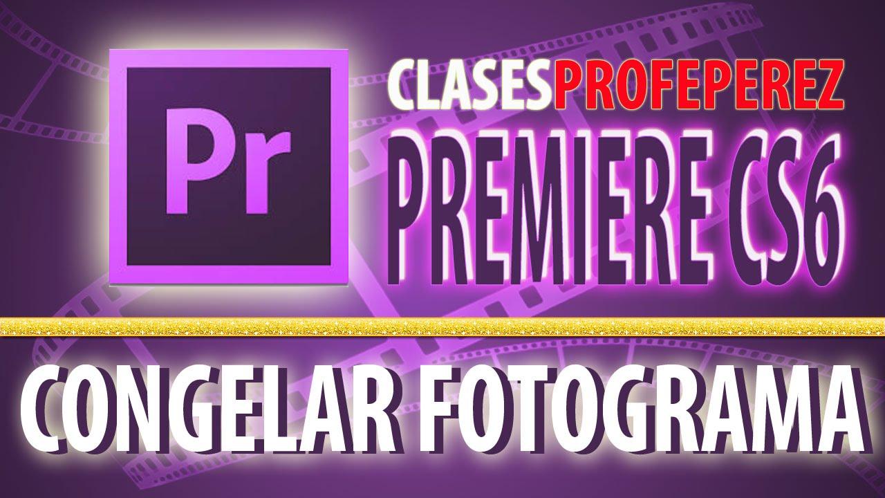 Premiere Congelar Detener Fotogramas - YouTube