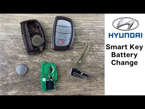 How To Change A Hyundai Remote Fob Smart Key Battery Sonata Elantra Ioniq DIY Replace Tutorial