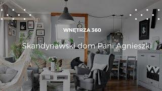 Skandynawski dom Pani Agnieszki #projektwnętrz