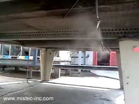 AC Pre Cooling by Misting