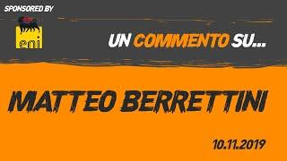 Scheda Tecnica Di Matteo Berrettini - Adriano Panatta Tennis Channel
