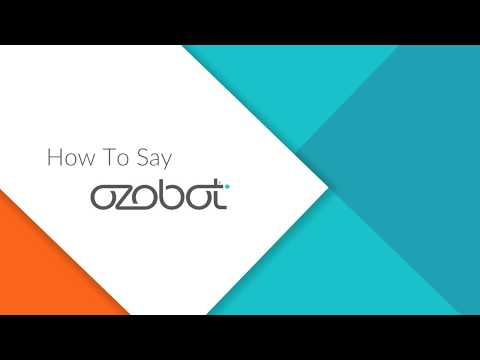How To Say Ozobot