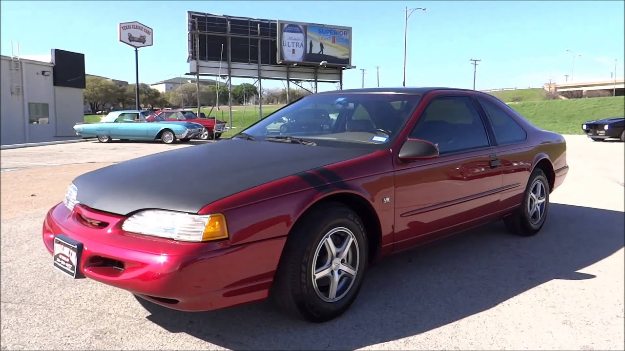 1995 ford thunderbird lx 4 6 youtube. Black Bedroom Furniture Sets. Home Design Ideas
