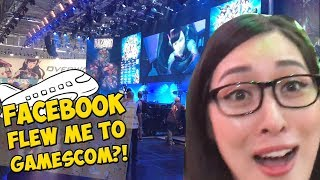 FIRST TIME GAMESCOM + GERMANY! | Annventure Time