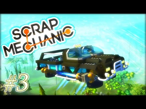 LET'S BUILD [FR] - VOITURE VOLANTE - #3 - MISSION COMPLETE - Scrap mechanic