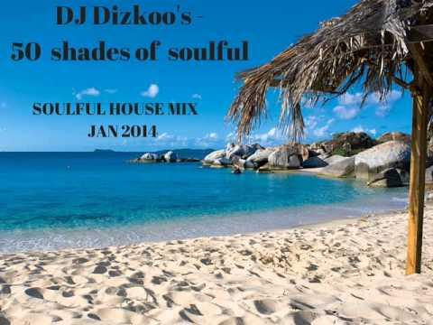 DJ Dizkoo's - 50 Shades of Soulful House Mix - January 2014