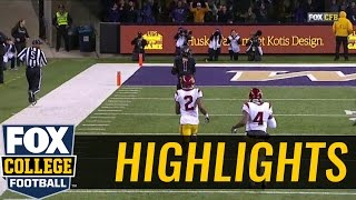 Jake Browning connects with John Ross on 70-yard TD vs. USC   2016 COLLEGE FOOTBALL HIGHLIGHTS