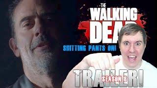 The Walking Dead Season 8 Trailer Reaction!