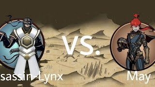 Shadow Fight 2 Assassin-Lynx Vs May