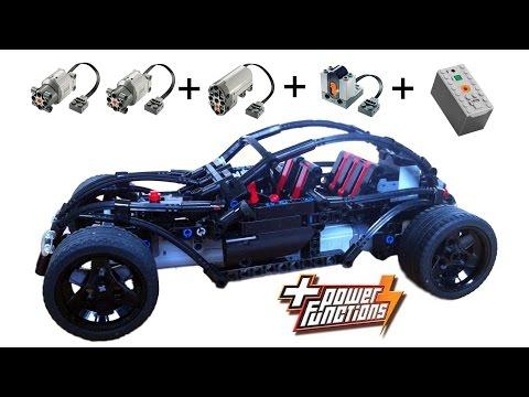 Motorized LEGO® Volksrod MOC