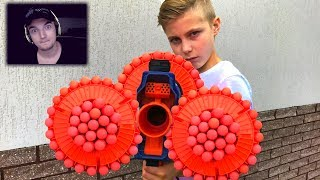 Nerf War For Survival!!!Nerf ВОЙНА на ВЫЖИВАНИЕ!!! - РЕАКЦИЯ НА ДЕТСКИЙ КОНТЕНТ
