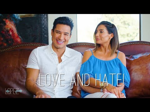 Courtney and Mario Lopez Talk Love and Hate