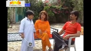 Pothwari Drama-Maka From Uk-Shahzada Ghaffar-Non Stop Comedy Part 2