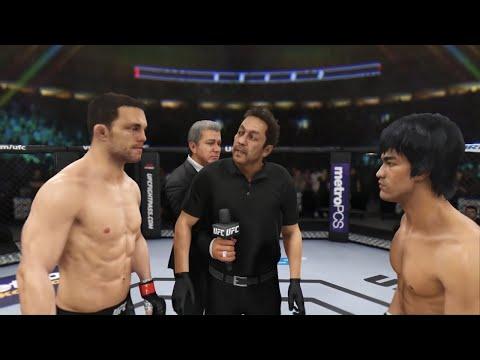 Jake Ellenberger vs. Bruce Lee (EA sports UFC 3) CPU vs.CPU