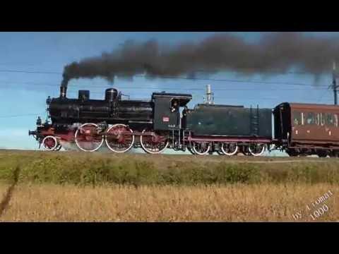 Treno a vapore Torino Cuneo con la GR 640 143 del 16 ottobre 2016