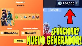 "NEW PAGE THAT ""REGALA"" FREE PAVOS IN FORTNITE! REAL OR FAKE? Fortnite: Battle Royale"