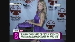 El vestido repetido de Cecilia Bolocco opacó a Diana