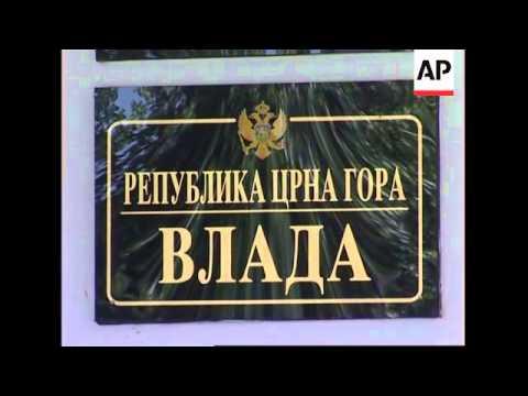Serbia's Kostunica, Tadic react to Montenegro vote to secede