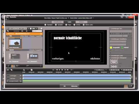 Schaltflächen erstellen in Pinnacle Studio 16 und 17 Video 102 von 114
