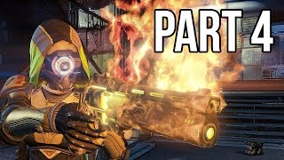 Destiny Gameplay Walkthrough - Part 4 - Golden Gun + Mission 4 (PS4/XB1 1080p HD)