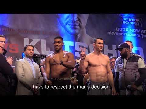 Anthony Joshua on Wladimir Klitschko not taking rematch (Video: Press Association)