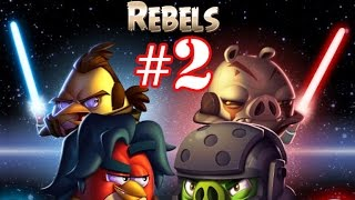 Angry Birds Star Wars 2 Gameplay Part-2 [Rebels] Pork Side Level 1-12 Plus Boss Fight