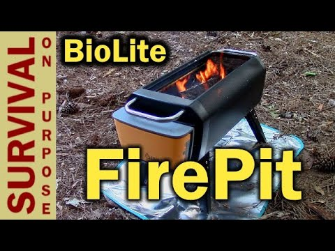 Biolite FirePit Portable Fire Pit - Memorial Day Sale!