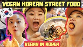 ULTIMATE VEGAN STREET FOOD TOUR of Seoul   VEGAN IN KOREA 🌱🇰🇷 screenshot 3