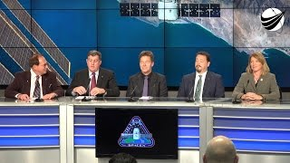 SpaceX - CRS8 - Pre Launch Press Confrence 04-07-2016
