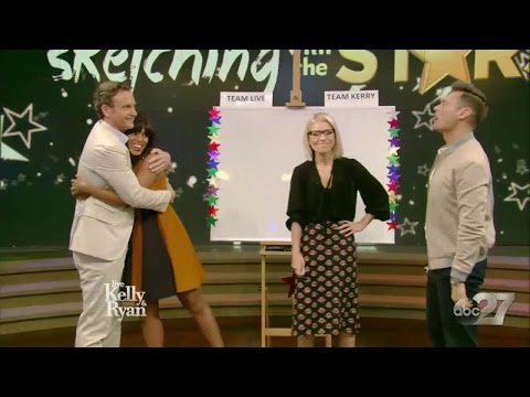 Kerry Washington & Tony Goldwyn  Live with Kelly & Ryan 18.05.17