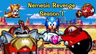 Nemesis Revenge Season 1 : Sonic sprite animation