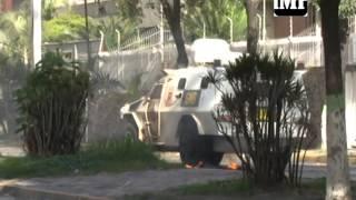 #4J Video: Vea los intensos enfrentamientos en la av. Lara este miércoles en #Barquisimeto