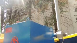 Пиролизный воздухогрейный котёл Энергия 100 кВт. Принцип работы.(, 2016-06-12T09:27:13.000Z)