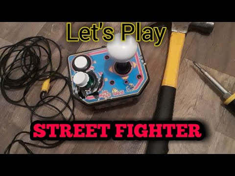 DESTROY IT!!!!- Walmart Ms.Pac-Man TV Controller