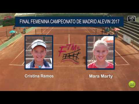 Final Femenina - Campeonato de Madrid Alevin, 2017