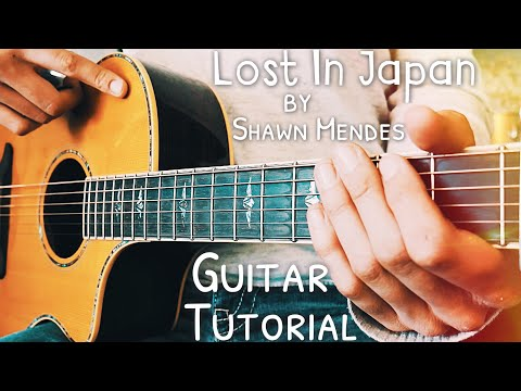 Lost In Japan Shawn Mendes Guitar Lesson for Beginners // Lost In Japan Guitar // Lesson #443