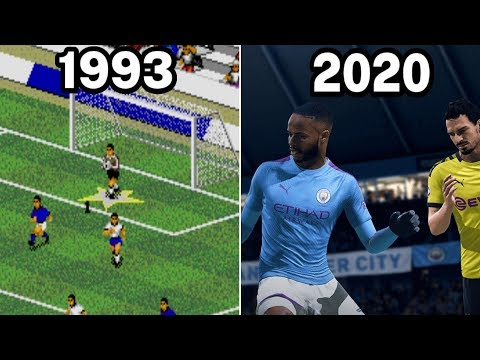 Graphical Evolution of FIFA Games (1993-2020)