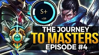 GODLIKE S+ CARRY - The Journey To Masters - Episode #4
