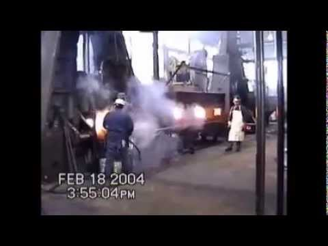 Amazing Fireball Drop Forging! - Heavy Industry